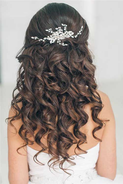 Best Curly Hair Down Prom Hairstyles