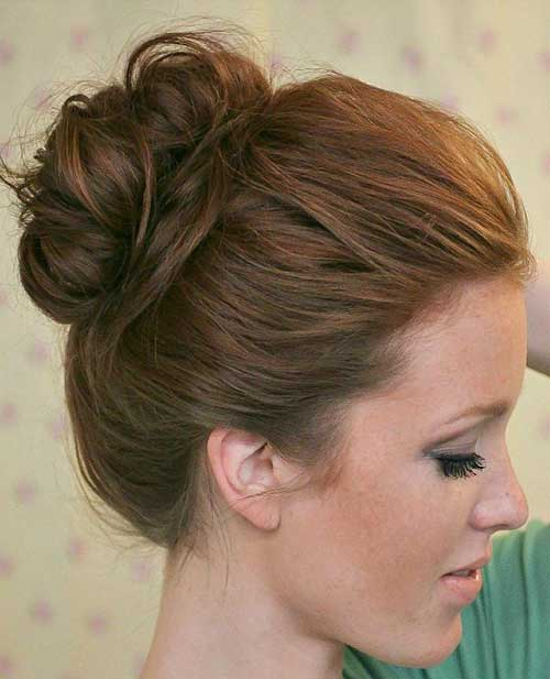 Cute Messy Buns Hairstyles