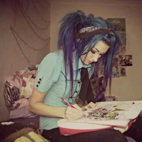 Best Emo Hairstyle Photos