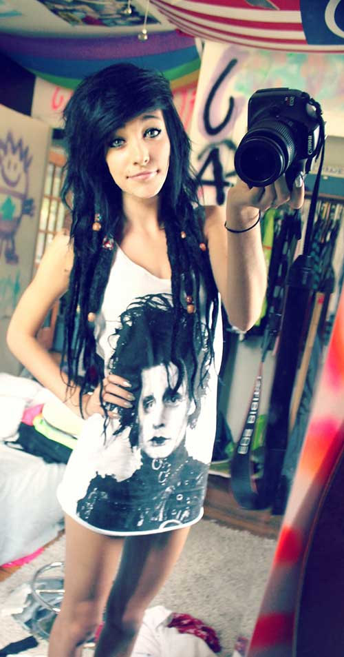 Best Emo Style Long Hair