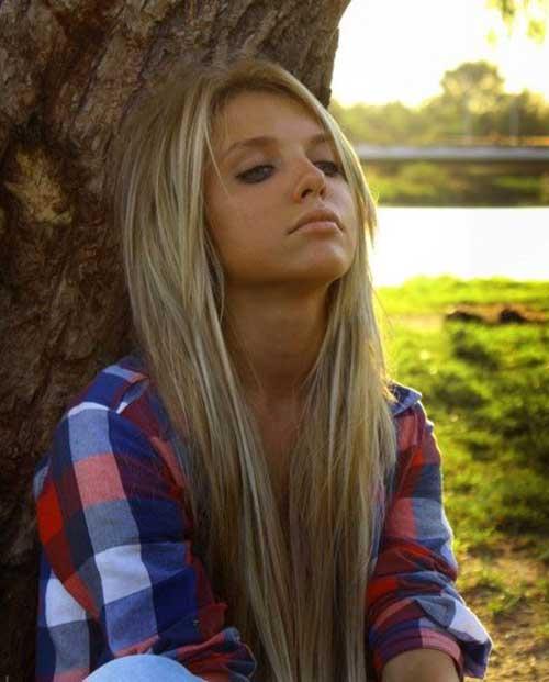 Girl Long Straight Haircuts