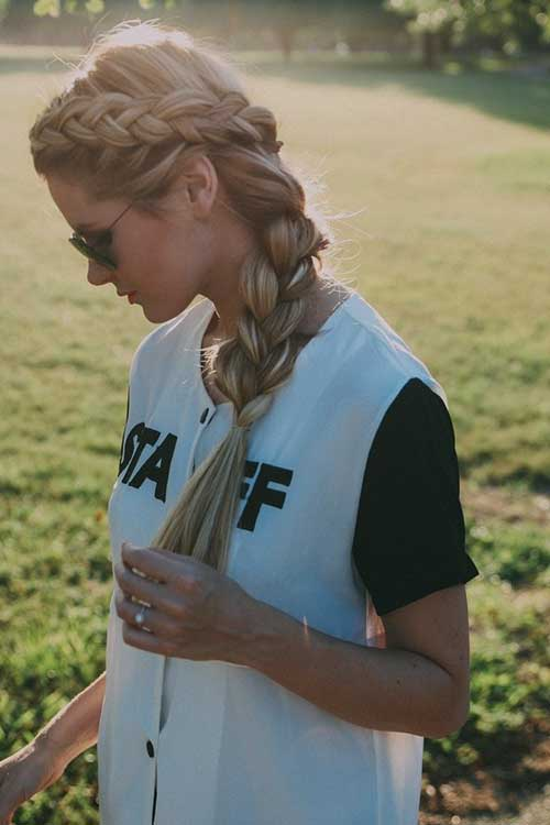 Girls Long Braided Hair Styles