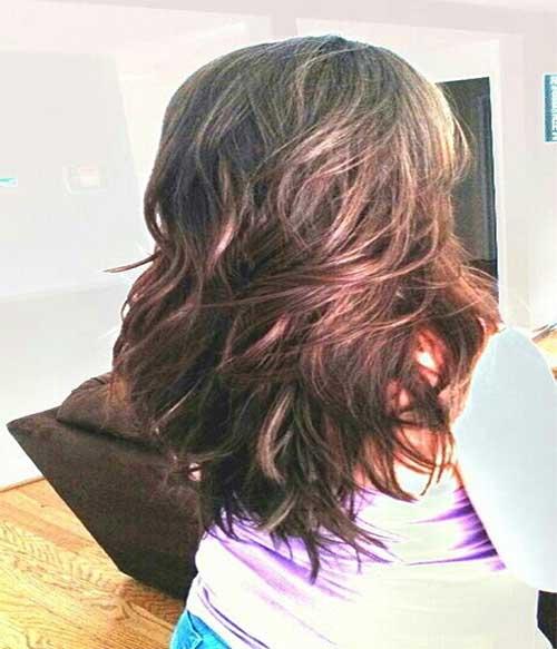 Girls Layered Long Haircuts