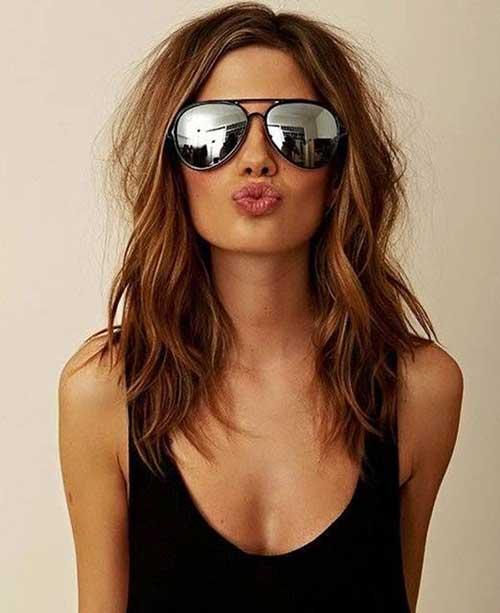 Girls Messy Long Haircuts