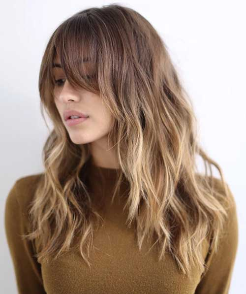 Girls Wavy Long Haircuts