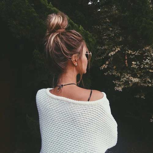 Best Hairstyle Messy Bun