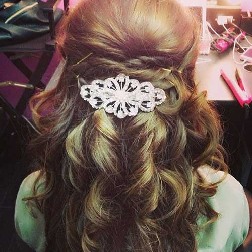 Best Half Up Half Down Hairstyles for Prom