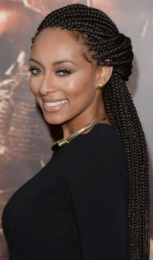 Keri Hilson Braids Hairstyles for Black Women