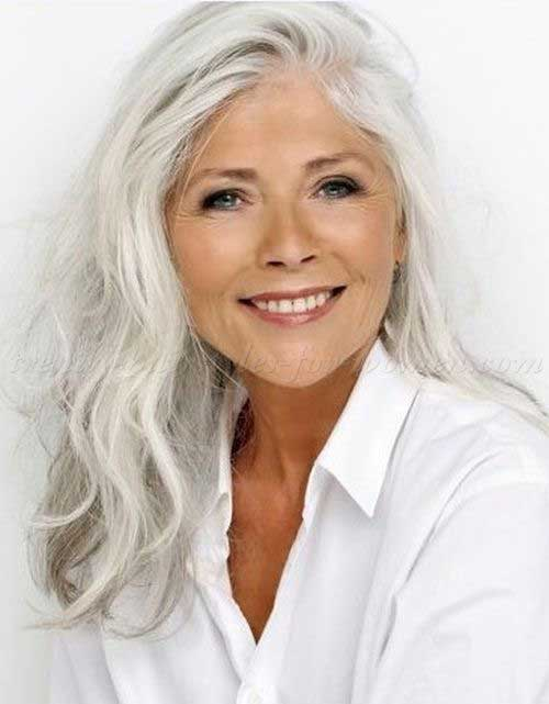 Ladies Long Hairstyles Over 50