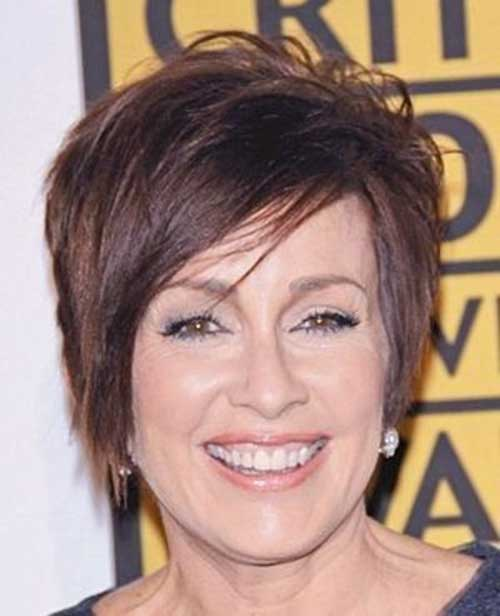 Best Ladies Short Layered Hairstyles Over 50