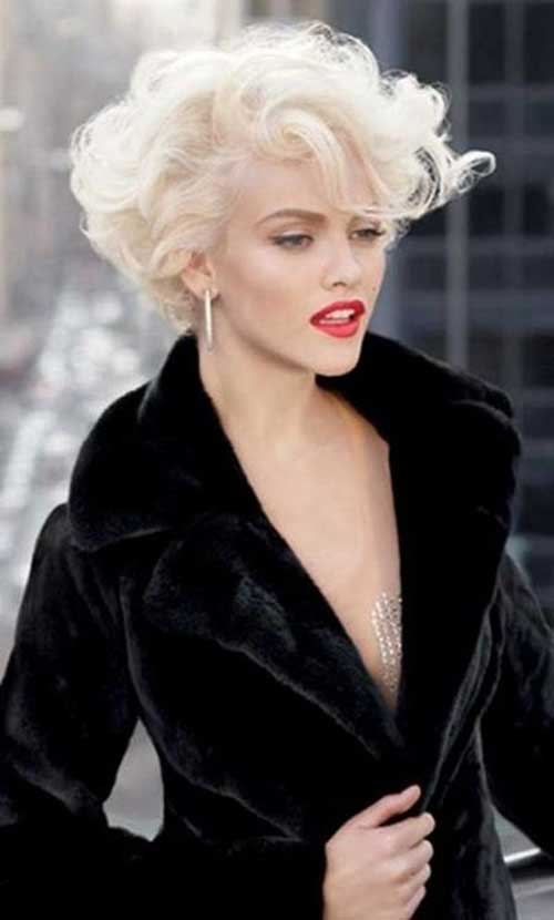 Latest Curly Short Hairstyles for 2015