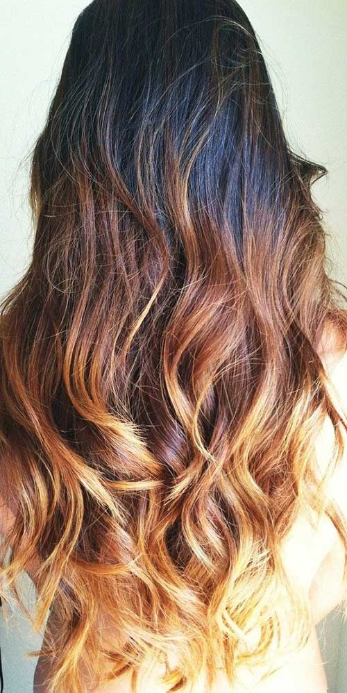 Light Brown Ombre 2015-2016