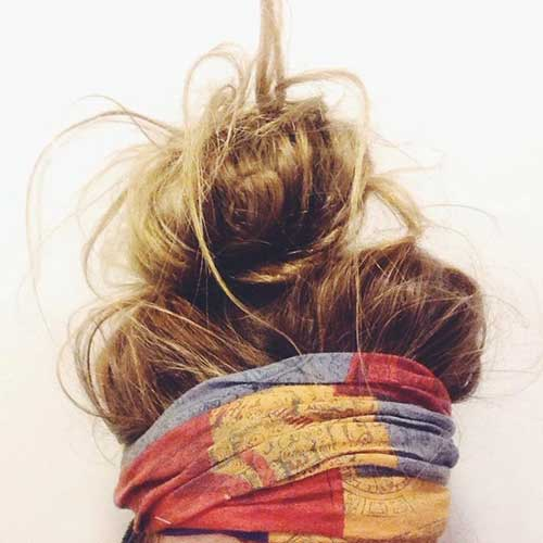 Best Messy Buns Hairstyles for Girls