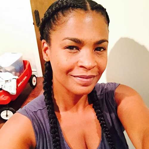 Best Nia Long Braided Hair