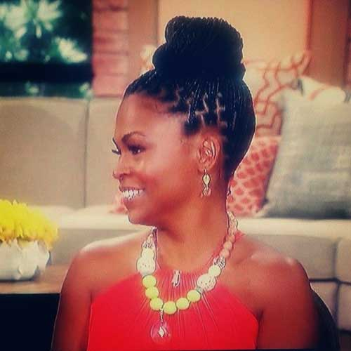 Best Nia Long Braids Bun