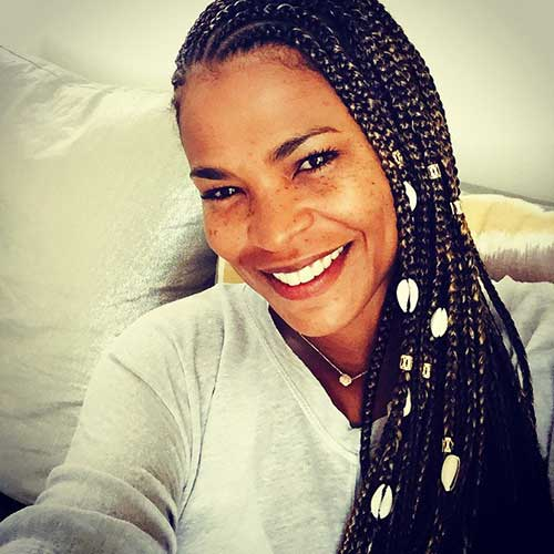 Best Nia Long Hair Style