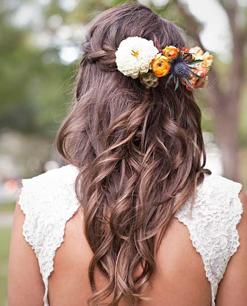 Best Stylish Down Hairstyles for Prom