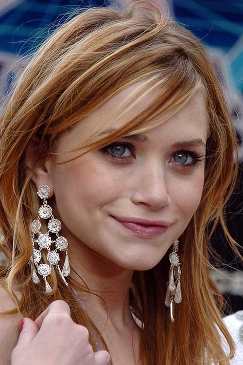Trendy Long Strawberry Blonde Hair Styles
