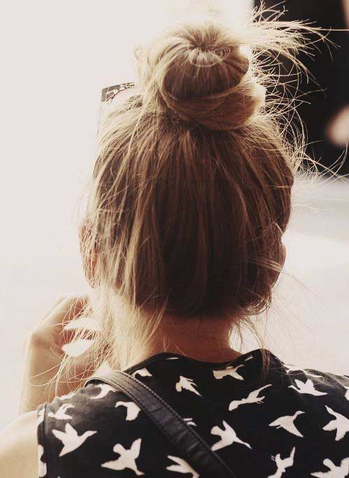Trendy Messy Buns Hairstyles
