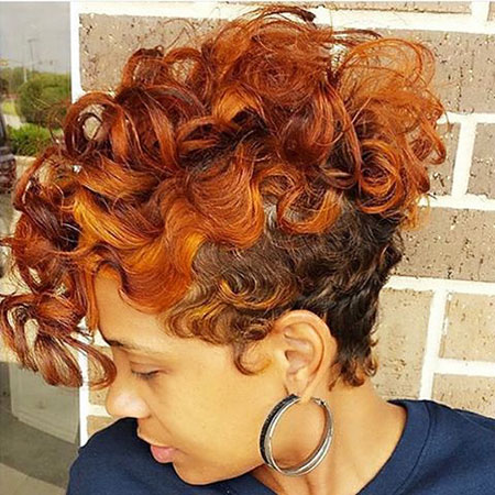 Short Curly Haircuts for Women - 12