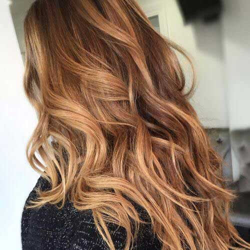 Most Popular Hair Colors For Long Hair Hairstyles And