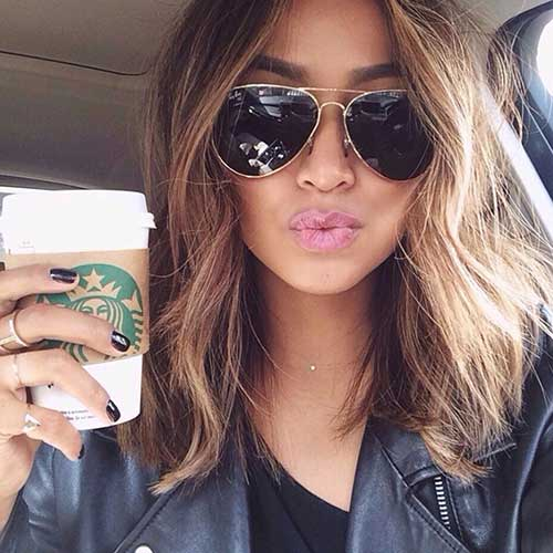 Hairstyles with Wavy Hair-13