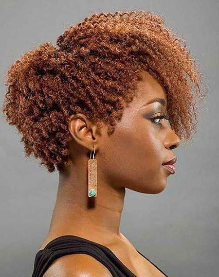 Short Hairstyles for Black Woman - 17