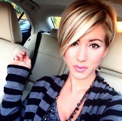 2015 Short Hairstyles for Long Faces