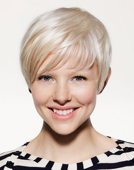 Short Medium Hairstyles Bangs - 6