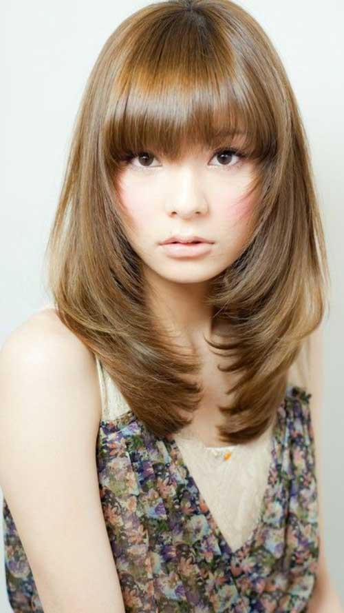 Trending Mid Length Layered Hair Pics Hairstyles And