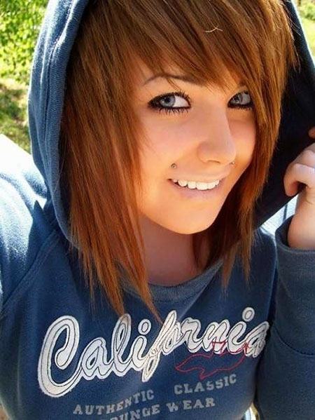 Gorgeous Amp Cute Short Hairstyles With Bangs Hairstyles