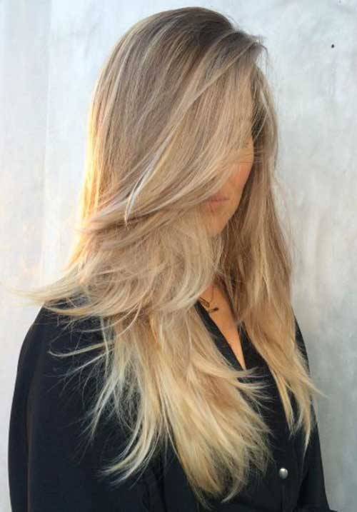 Easy Ashy Gold Long Hair