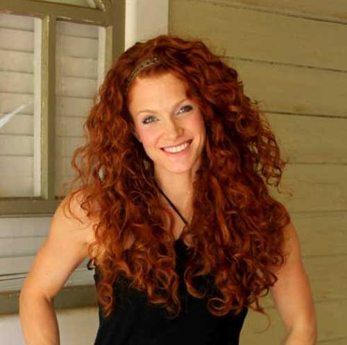 Beautiful Natural Curly Hairstyles