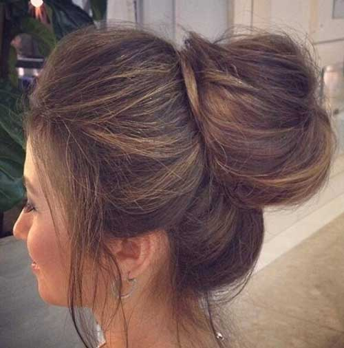 Best Big Bun Hairstyles