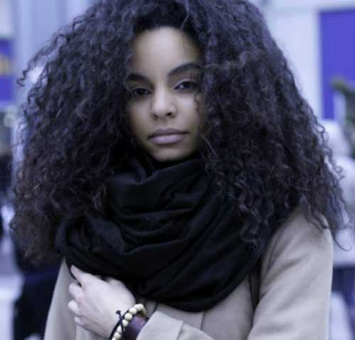 20 Best Black Girls With Long Natural Hair Hairstyles