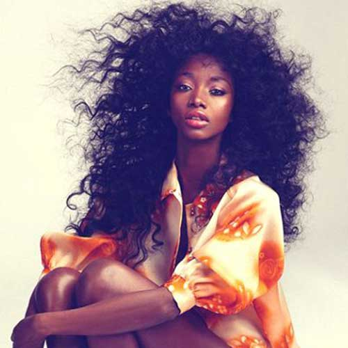 Beautiful Black Girls with Natural Long Hair