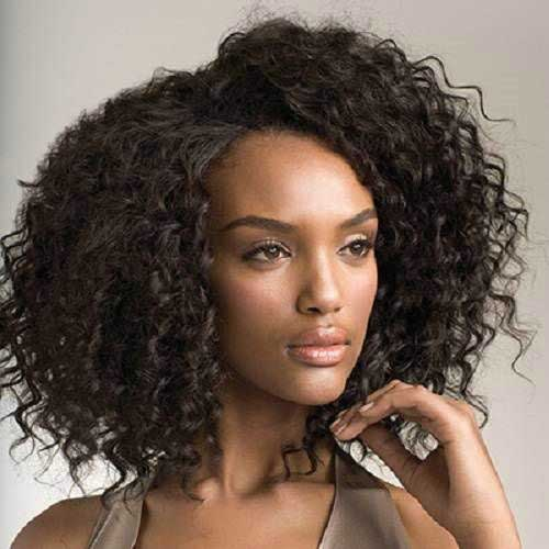 Black Women Natural Curly Hair