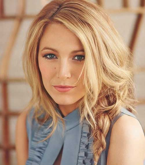 Blake Lively Hair 2015 Celebrity