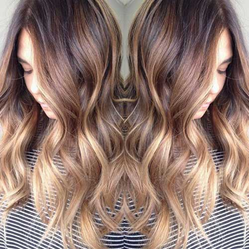 Blonde Ombre Long Hairstyles 2015