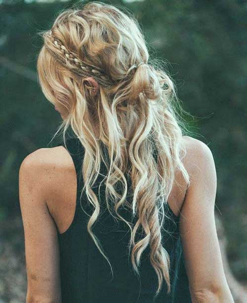Boho Hairstyles for Long Faces