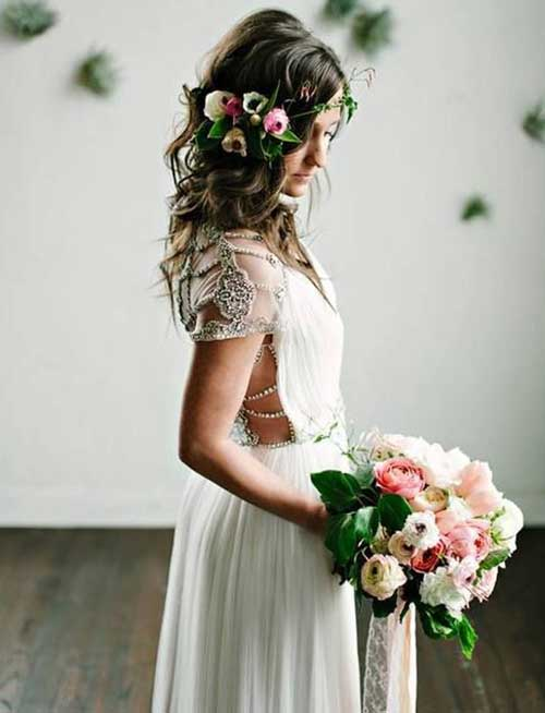 Boho Wedding Hair Images