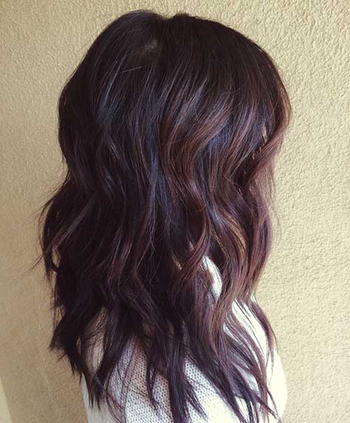 hair color styles for brunettes 25 hairstyles 2015 2016 hairstyles 1370 | Brunette Hair Colors 2015