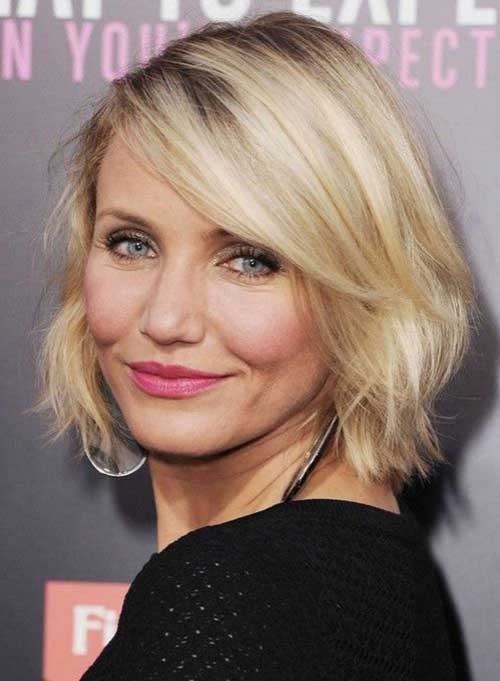 Cameron Diaz Haircut for 2015
