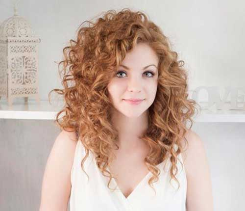 25+ Curly Layered Haircuts