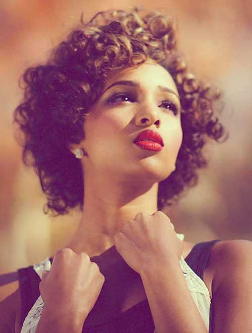 Thick Curly Natural Hairstyles for Black Hair