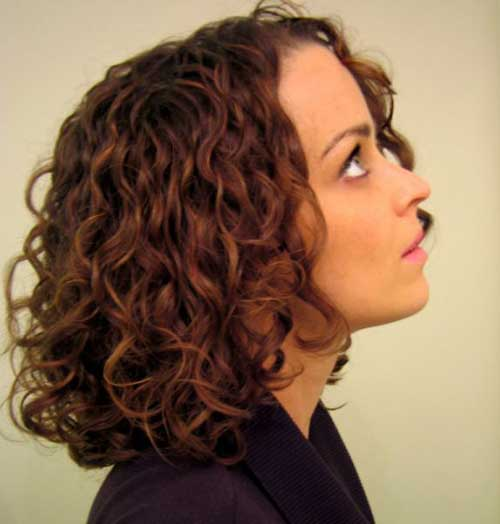 Short Curly Thick Hairstyles