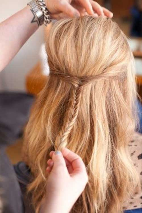 Cute Easy Simple Hairstyles