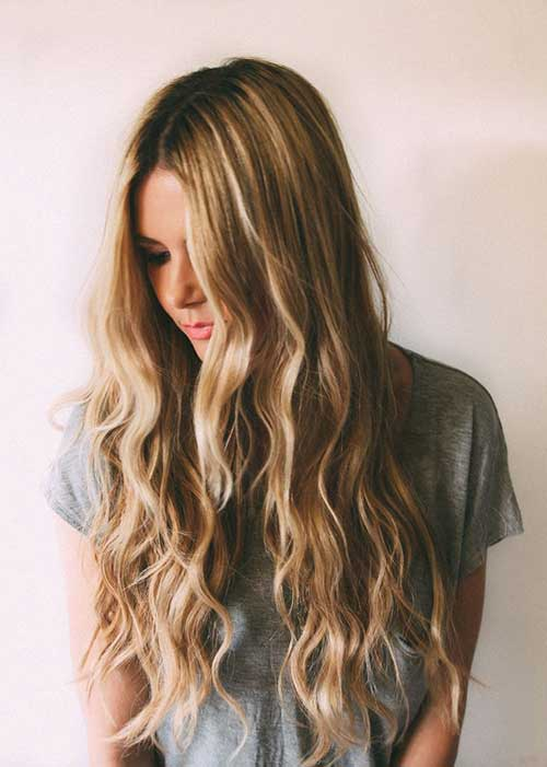 Easy Long Wavy Haircuts