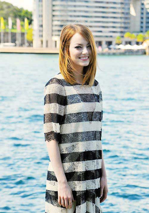Emma Stone Modern Haircuts