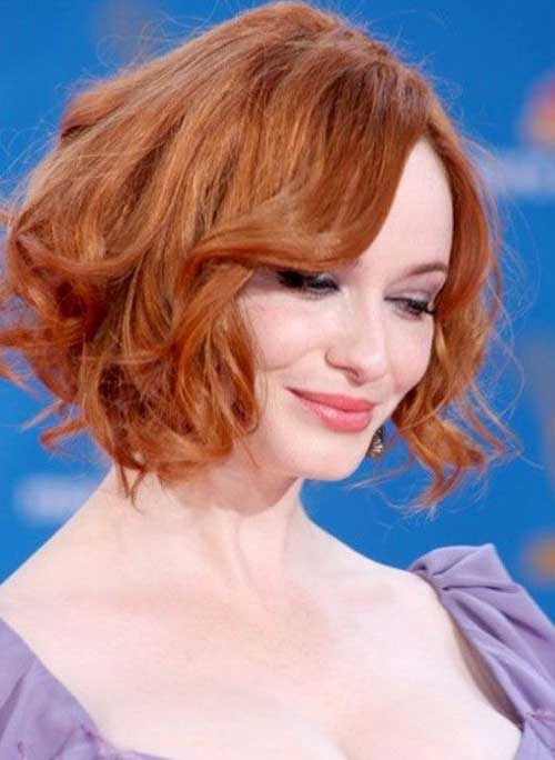 Famous Curly Bob Hairstyles 2015